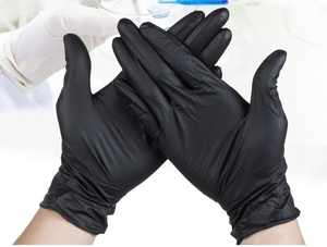 Medical rubber gloves W-1001-J-M (set of 50 pieces)