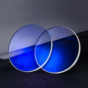 Blue Cut lenses, Ø75 mm, index 1.56, blue light protection, with a choice of blue/green coating (price per pair!)