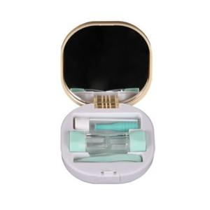 Contact lens kit with mirror and tweezers A-8094