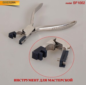 Tool - pliers for straightening the sleeve to the frame with teeth SF1002 (PL030)