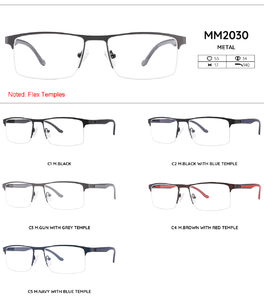 Metal frames for glasses MM2030