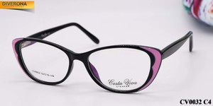 Plastic eyeglass frames with flex hinges Costa Viva CV0032