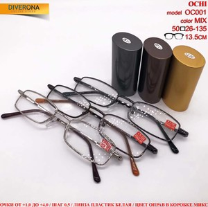 "Eyeglasses hard case ""lecturer handle"" Ochi OC001"