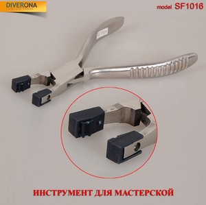 Tool - pliers for dressing the sleeve to the frame without teeth SF1016 (PL031)