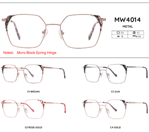 Metal frames for glasses MW4014