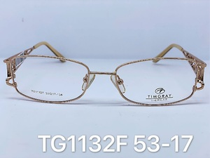 Metal frames for glasses Timgray TG1132F