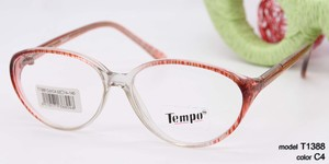 Plastic frames for glasses TEMPO T1388