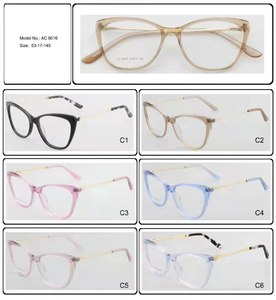 Plastic frames for glasses acetate material AC 8016