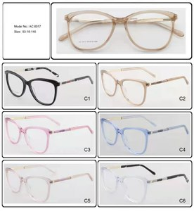 Plastic frames for glasses acetate material AC 8017