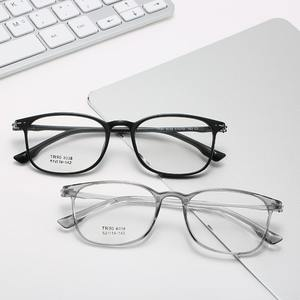 TR90 eyeglasses J8038, diopters from 0.50 to -6.00, not centered