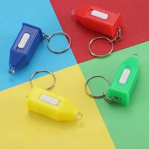 Flashlight-keychain with blue light transmittance test