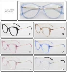 Plastic frames for glasses acetate material AC 8020