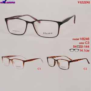 Plastic frames for glasses V8246 VIZZINI