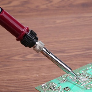 Soldering iron for glasses repair, 80 W, with LCD display